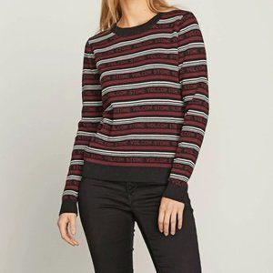 VOLCOM Flip Hop Stripe Sweater